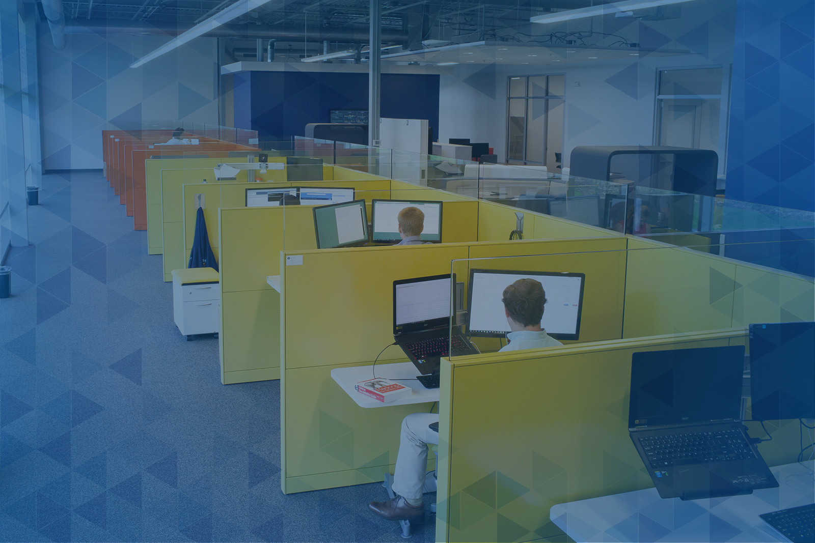 programming pods in office space